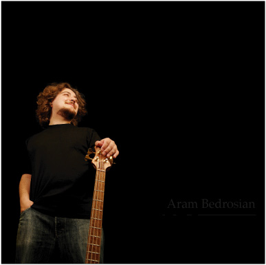 Aram Bedrosian Solo Bass Pieces CD of Original Bass Music Tapping slapping and More